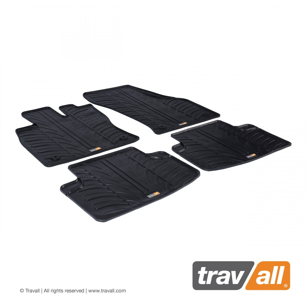 Travall® MATS for Audi A3/S3 Saloon/A3 Sportback e-tron/S3 Sportback (2013 >) / A3 Sportback (2012 >) / RS3 Sportback (2015-2016) / Volkswagen Golf SV (2014 >)