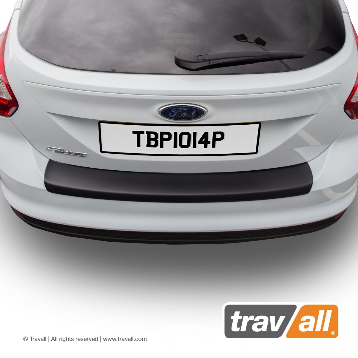 Travall® PROTECTOR-Plastic Smooth for Ford Focus 5 Door Hatchback (2010-2014) / ST (2012-2014)
