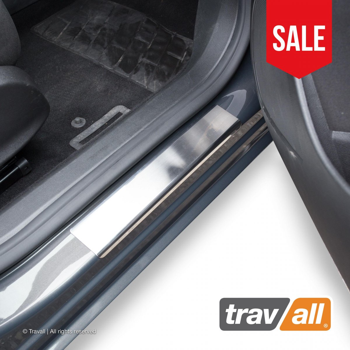 Travall® Sillguards for Opel/Vauxhall Astra 5 Door Hatchback (2015 >)