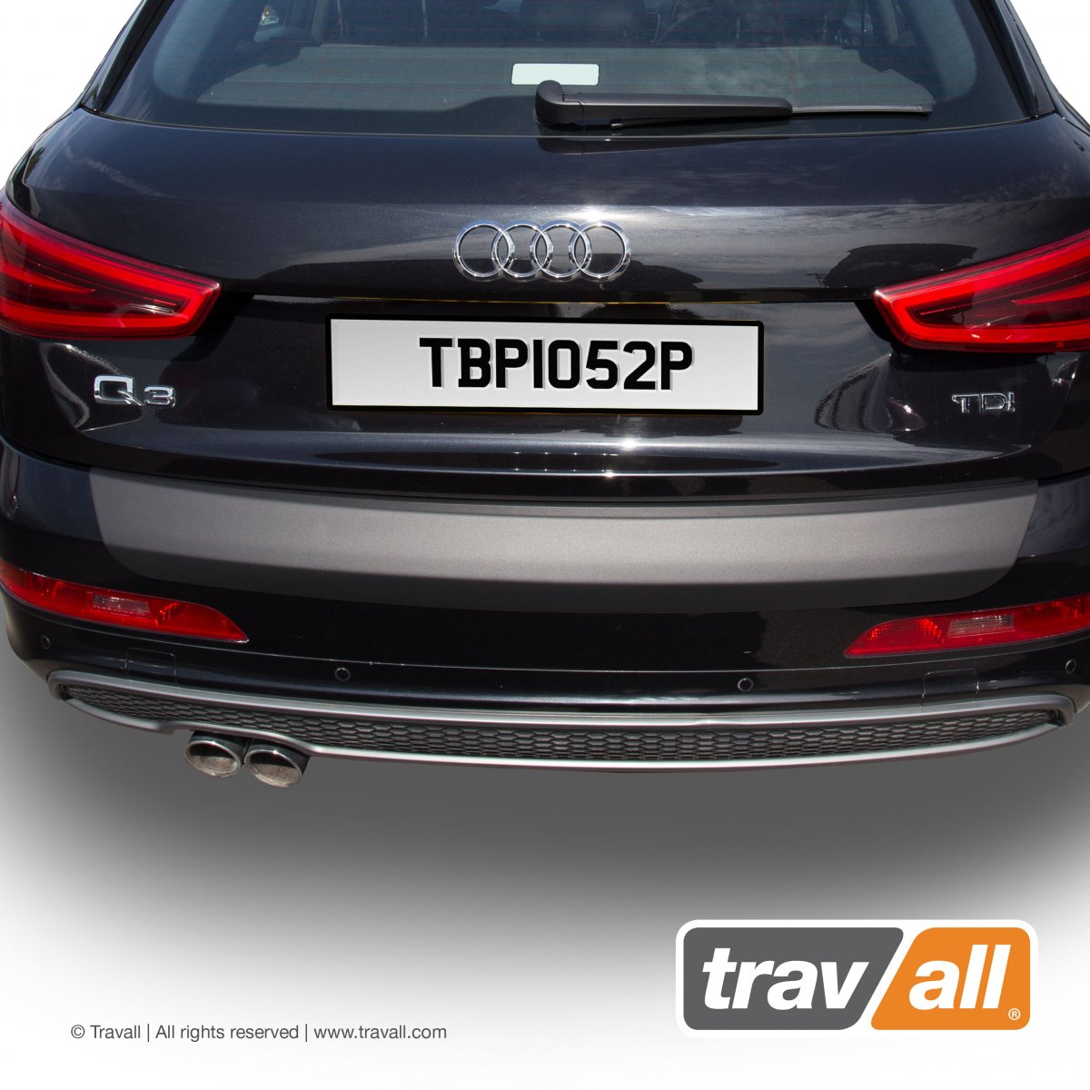 Travall® PROTECTOR-Plastic Smooth for Audi Q3 (2011-2018) / RS Q3 (2013 >)
