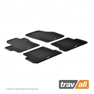 Rubber Mats for 3 Saloon 2006 - 2008