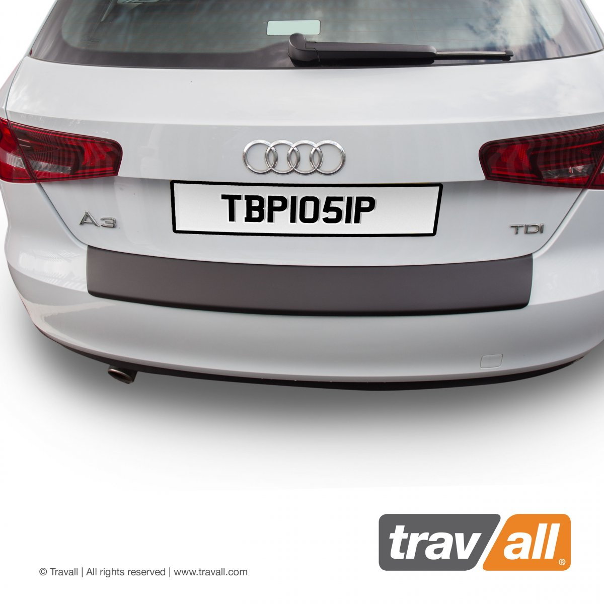 Travall® PROTECTOR-Plastic Smooth for Audi A3/S3/RS3 Sportback (2012 >)