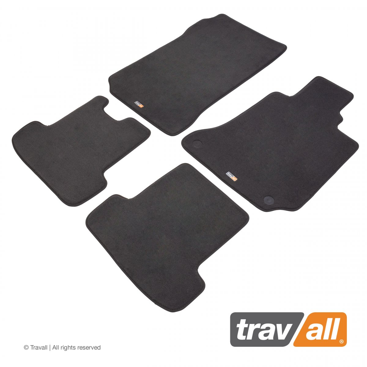Travall® MATS [RHD] for Mercedes Benz C-Class Coupe / Saloon / Estate (2011 - 2018)