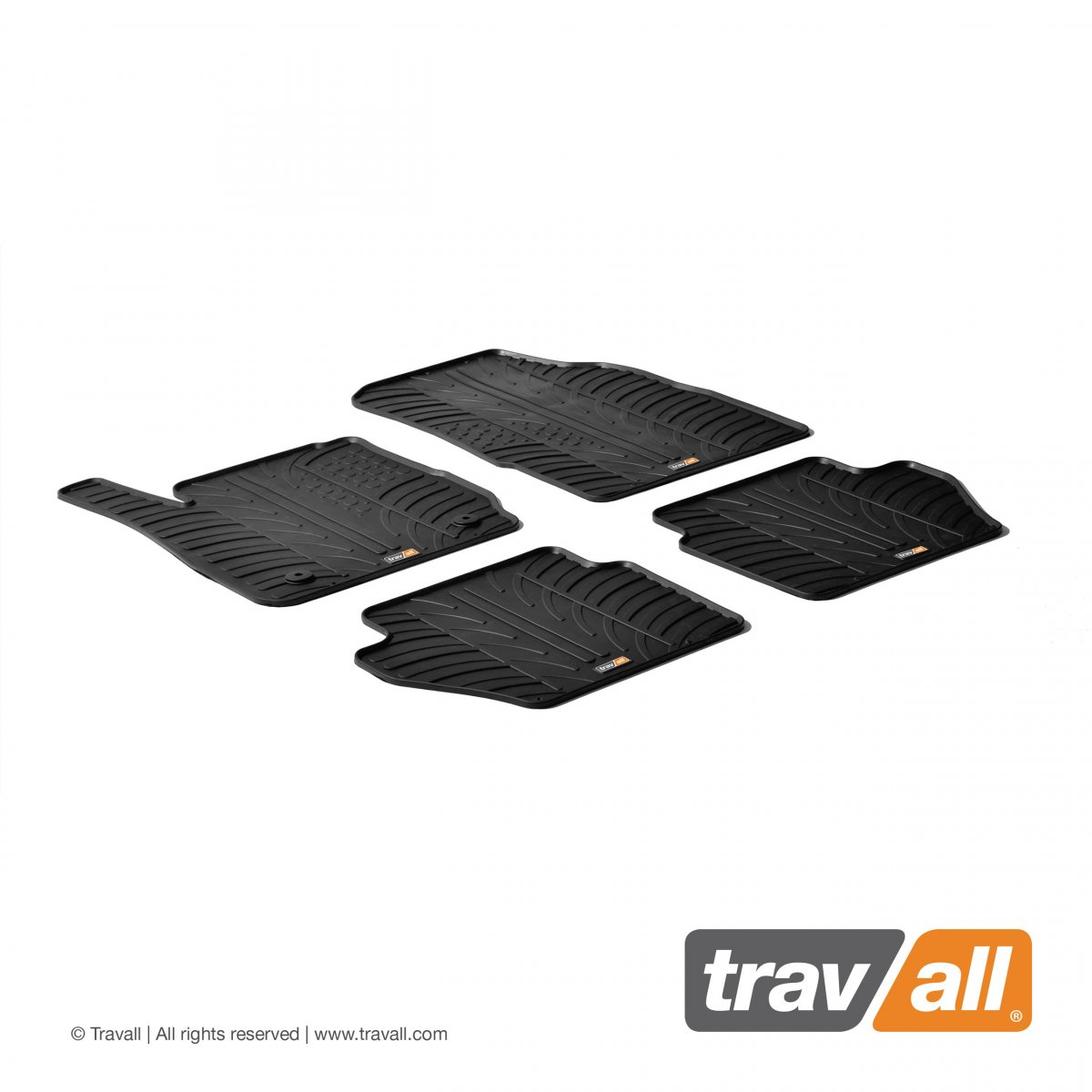 Travall® MATS for Ford Fiesta Hatchback (2008-2017) / ST (2012 >)