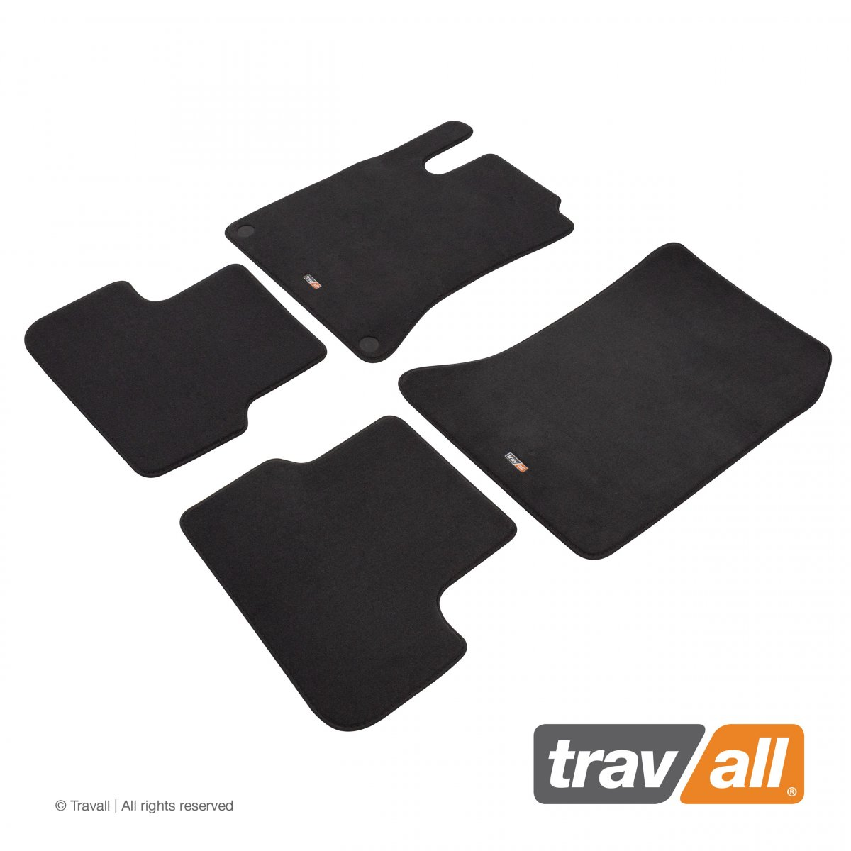 Travall® MATS [LHD] for Mercedes CLA Coupe (2013 - ) / Shooting Brake (2015 - )