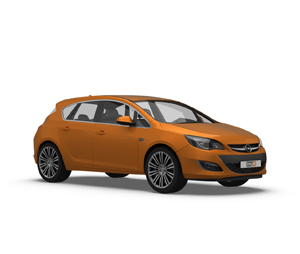 Astra 5 Door Hatchback J 2009 - 2012