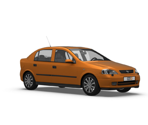 Astra 5 Door Hatchback G 1998 - 2004