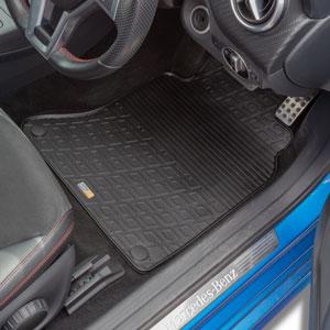 Travall 174 Mats For Mercedes Benz B Class 5 Door 2011